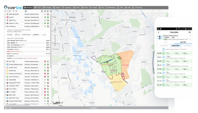 Servicios de Localización GPS y Monitorización <span>Carloc</span>